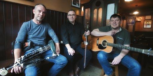 Leonard Barry, Declan Folan and Michael McCague