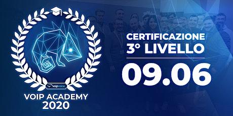 Corso di Certificazione Terzo Livello VoipVoice Firenze biglietti