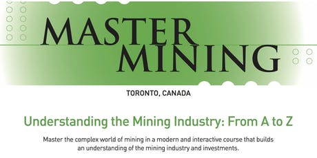 MASTERMINING: Understanding the Mining Industry From A to Z tickets