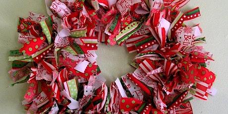 Rag Wreath Workshop tickets