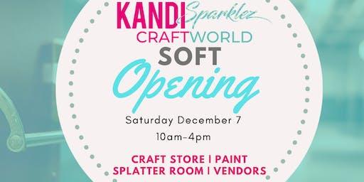 KandiSparklez CraftWorld Soft Opening