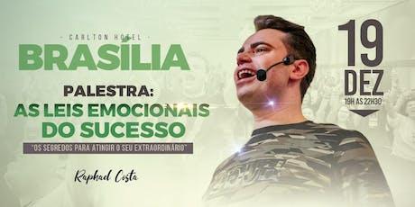 Brasília- Palestra: As Leis Emocionais do Sucesso com  Raphael Costa bilhetes