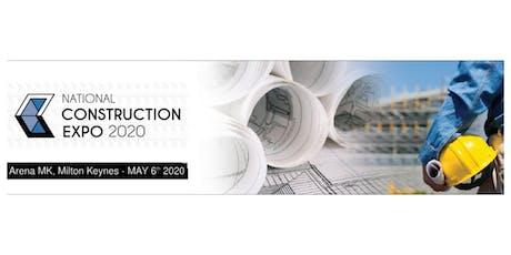National Construction Expo UK tickets