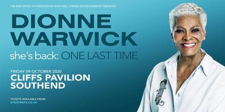Dionne Warwick 2020 (Cliffs Pavilion, Southend) tickets