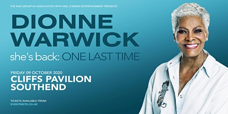 Dionne Warwick 2020 (Cliffs Pavilion, Southend) tickets