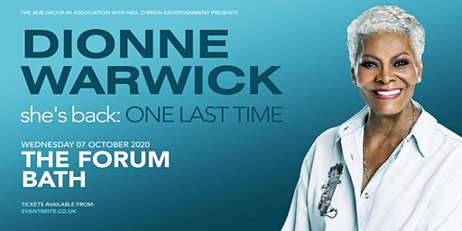 Dionne Warwick 2020( The Forum, Bath)
