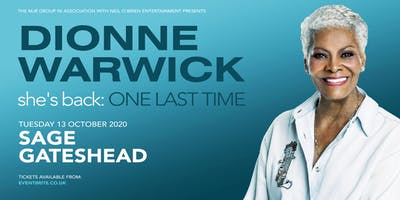 Dionne Warwick 2020 (Sage, Gateshead)