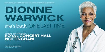 Dionne Warwick 2020 (Royal Concert Hall, Nottingham)