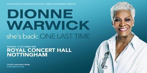 Dionne Warwick 2020 (Royal Concert Hall, Nottingham)