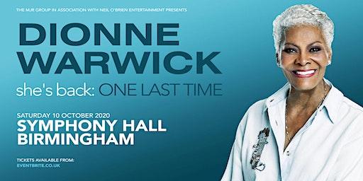 Dionne Warwick 2020 (Symphony Hall, Birmingham)