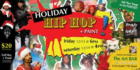 Holiday HIP HOP + PAINT! tickets