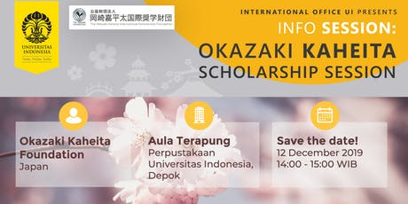 Info Session from Okazaki Kaheita Scholarship Foundation tickets