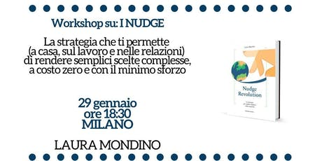 Workshop su Nudge Revolution a Milano tickets