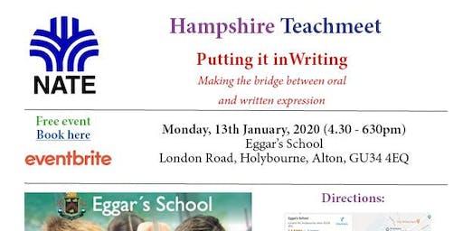 NATE Hampshire Teachmeet