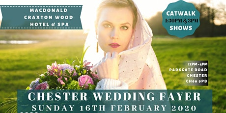 Chester & Cheshire Wedding Fair at Macdonald Craxton Wood tickets