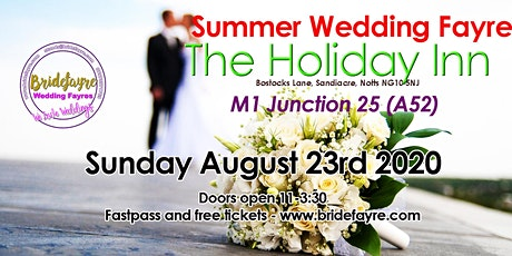 The Holiday Inn Summer wedding fayre tickets