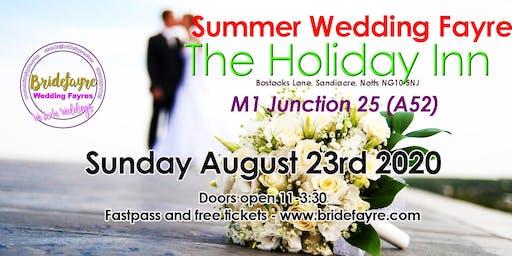 The Holiday Inn Summer wedding fayre