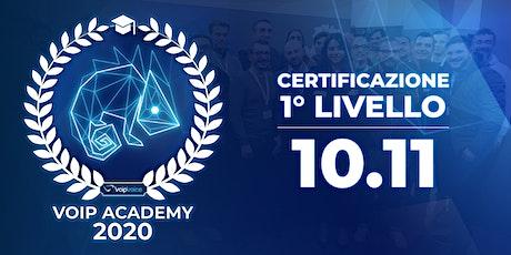 Certificazione Primo Livello VoipVoice Firenze biglietti