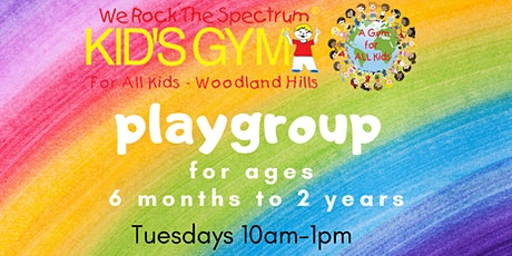Playgroup for Ages 6 months to 2 years tickets