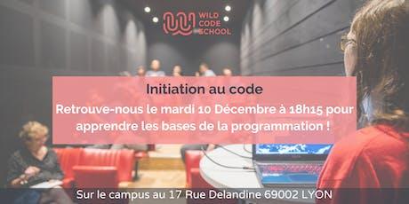 Initiation au code ! billets