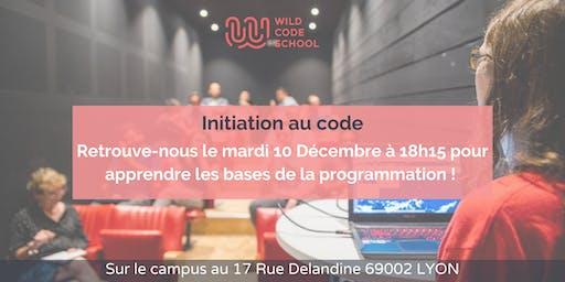 Initiation au code !