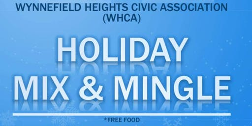 Wynnefield Heights Civic Association Holiday Mix & Mingle