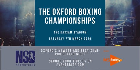 Oxford Boxing Championships tickets