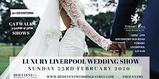 Luxury Liverpool Wedding Fair at Formby Hall Golf Resort & Spa