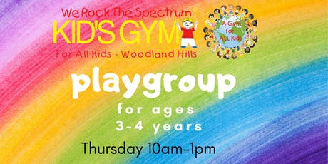 Playgroup for Ages 3-4 Years tickets