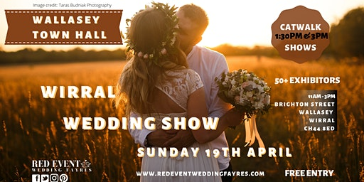 Wirral Wedding Fair @ Wallasey Town Hall, Merseyside