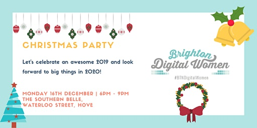 Brighton Digital Women Christmas Party