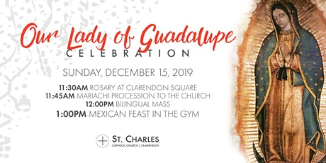 Our Lady of Guadalupe Feast 2019 tickets
