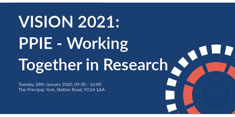 Vision 2021: PPIE - Working Together in Research tickets
