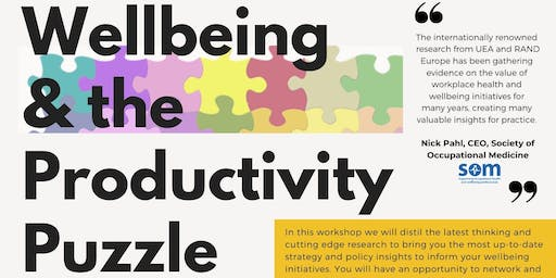 Wellbeing & the Productivity Puzzle