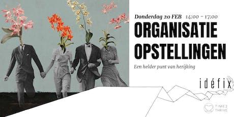 Organisatieopstellingen tickets