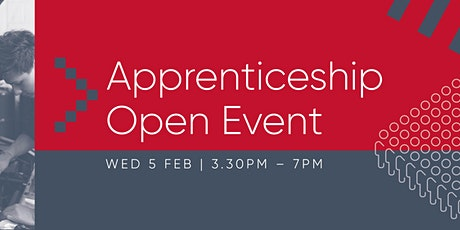 Apprenticeship Open Event tickets