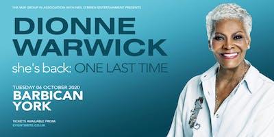 Dionne Warwick 2020 (Barbican, York)