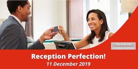 Reception perfection! half-day (11 December 2019) tickets