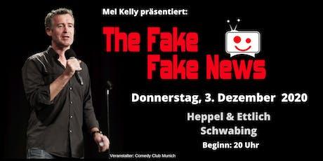 The Fake Fake News - 3. Dezember 2020 - der international satirische Rückblick Tickets