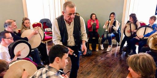 Tommy Lanigan  Bodhrán Workshop