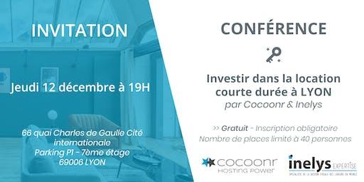 Conférence : Investir dans la location  courte durée à LYON - Cocoonr