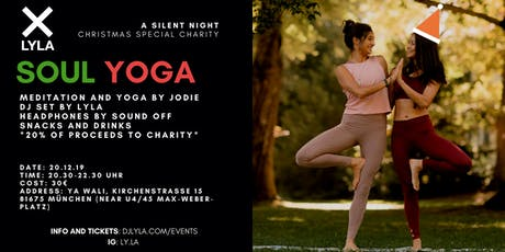 LYLA Soul Yoga Silent Night Christmas Special Charity tickets