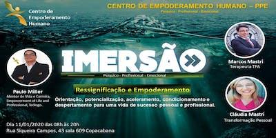 CENTRO DE EMPODERAMENTO HUMANO-12 HORAS DE IMERSÃO EM COPACABANA