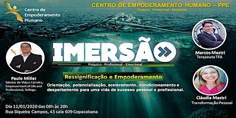 CENTRO DE EMPODERAMENTO HUMANO-12 HORAS DE IMERSÃO EM COPACABANA ingressos