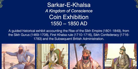 ALL WELCOME! Sikh Coin and Artefact Exhibit - Sunderland tickets
