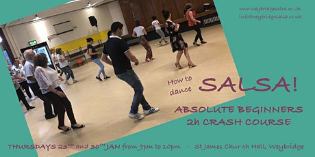 How to Dance Salsa - Crash Course tickets