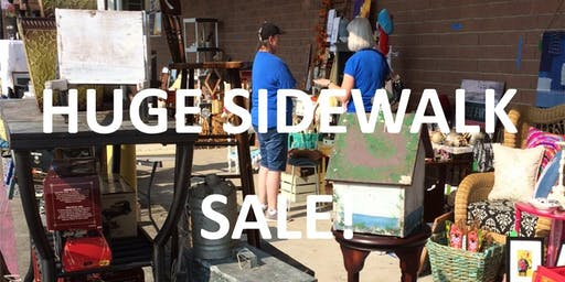 SIDEWALK SALE! 20+ SELLERS!