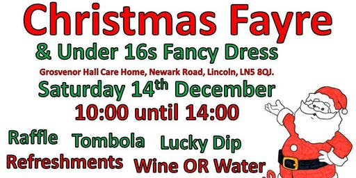 Christmas Fayre & Under 16s Fancy Dress