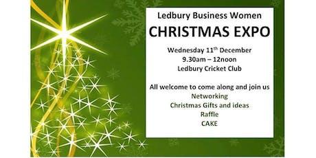 Ledbury Business Women - Mini Christmas Expo tickets