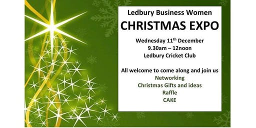 Ledbury Business Women - Mini Christmas Expo